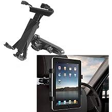 alta calidad [fácil acortar] universal Asiento trasero del coche reposacabezas sostenedor del montaje,Soporte para 7-13 pulgadas de la tableta, GPS, DVD; para iPad 2/3/4/5 tableta, el iPad 1/2/3/4 / mini, Samsung Galaxy Tab 10.1, Asus Eee Pad Transformer, Google Nexus 7/10, HTC Flyer y mucho más!