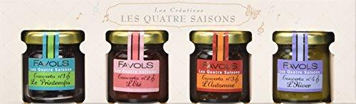 FAVOLS Coffret Quatre Saisons Printemps/Eté/Automne/Hiver 4 x 42 g