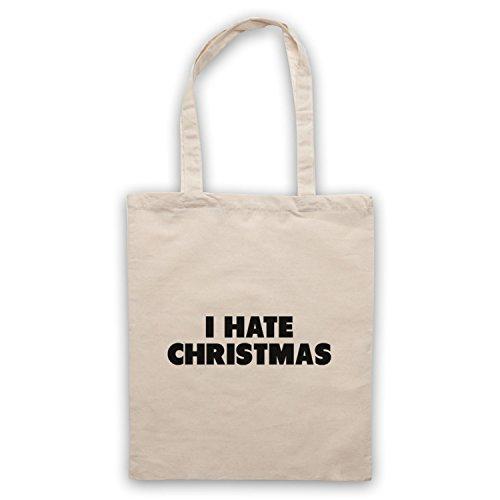 I Hate Christmas Funny Anti Xmas Slogan Umhangetaschen Naturlich