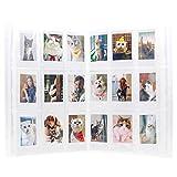 Amimy 288 Poches Photo Album pour Fujifilm Instax Mini 7s 8 8+ 9 25 50 70 90, Polaroid PIC-Snap 300, Sprocket HP, Kodak Mini 3 Pouces Film (288 Poches, Transparent)