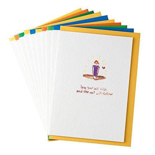 Inspiration Pack (Yoga Grußkarten von gayacards, Pack, 10Stück für Freunde, Kunden und tägliche Inspiration, erhalten diese Amazing Yoga Karten jetzt.)