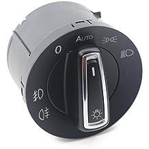 Cikuso Coche Kit de Sensor de Boton de Interruptor de Control de luz de Faros antiniebla