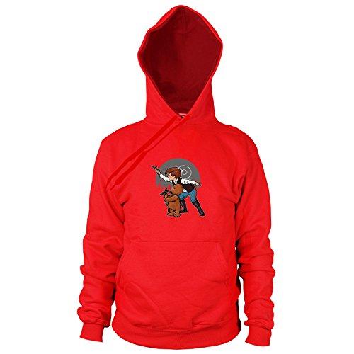 (SW: Poo Solo - Herren Hooded Sweater, Größe: XXL, Farbe: rot)