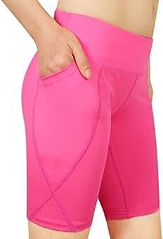 Cassiecy Femme Short de Sport Eté Fitness Pantalon Grande Taille Mode  Pantalons. 164b2617ddb