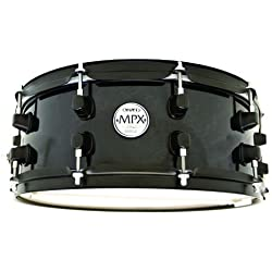 MAPEX MPX 14 X 5.5 MAPLE - TRANSPARENT MIDNIGHT BLACK Snare drums Wood snares