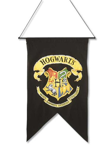 rubies-official-harry-potter-hogwarts-wall-banner-flag-fancy-dress-accessory-decoration