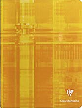 CLAIREFONTAINE Cahier piqué 17x22 32p DL 2 mm IV, colori assortiti