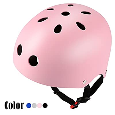 Cute Toddler Girls Boys Cycle Helmet Children Bike Bicycle Helmet Adjustable Road Cycling Safety Helmets for Kids (58-60cm/22.8-23.6inch) from Lonlier