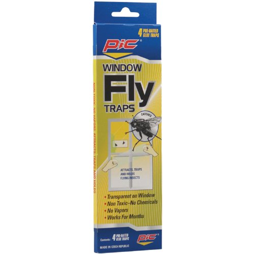 Pic-Corp Window Fly Traps (12 Pack of 4)