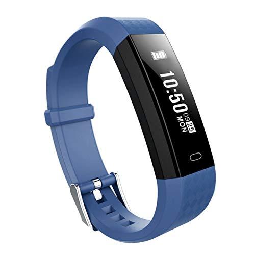 Preisvergleich Produktbild ZY68 Smart-Armbanduhr,  Herzfrequenz-Monitor,  wasserdicht,  Sportarmband,  Fitness-Tracker für iOS für Android