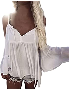 Mujeres blusa camiseta ropa, RETUROM Las mujeres más nuevas del estilo de la blusa floja del hombro