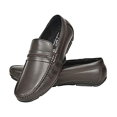 c98e3160db1 Red Arrow Designer Brown Loafers for Men  Buy Online at Low Prices in India  - Amazon.in