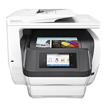 HP OfficeJet Pro Impresora All-in-One Pro 8740 - Impresora multifunción (Inyección de tinta térmica, Colour printing, Colour copying, Colour scanning, Colour faxing, 30000 páginas por mes)