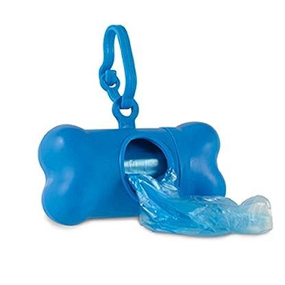 Bone Shaped Pet Waste Bag Holder - Plastic Dog Poo Bag Dispenser 1