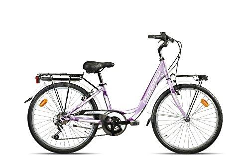 Preisvergleich Produktbild 28 Zoll Damen Fahrrad 1 Gang Montana City,  Farbe:lila