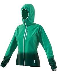 34a354c668450 Adidas Terrex Agravic Viento Chaqueta para Correr Mujer - Verde Antracita