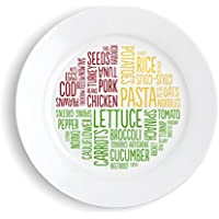 The Healthy Portion Plate (Colour)