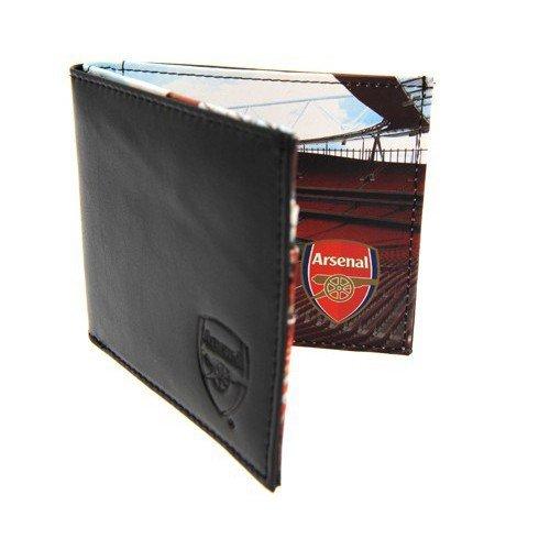 Arsenal FC Geldbörse, Leder, geprägt Panorama-Geschenke und Karten-Karten, Idee, Anlass, Geschenk, Geschenkidee - Gerahmte Geldbörse Aus Leder