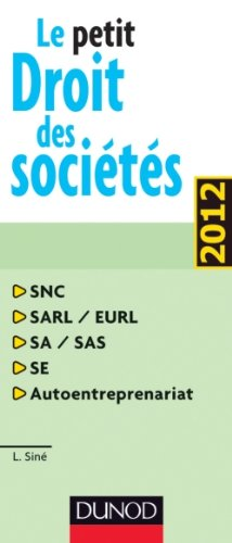 Le petit droit des Sociétés 2012