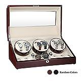 Best Rolex Watches - AUBLAN Wooden Automatic Watch Winder 6+7 Storage Boxes Review