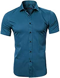 Amazon.es  Turquesa - Camisas   Camisetas 4531dbd6d8a