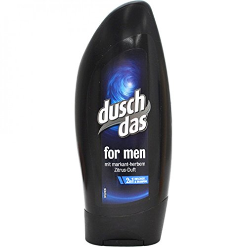Duschdas Duschgel 250ml for men , 6er Pack (6 x 250 ml)