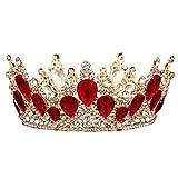 Jstyal968 Yalztc-zyq16 Hochzeit Krone Braut Diademe Stirnband für Frauen und Mädchen