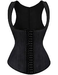 Rosfajiama Mujer Fajas Reductoras Faja de Cinturón de Formación para Mujer de la cintura Cincher Underbust Bustiers Corsé