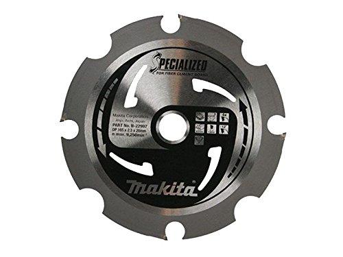 Makita b-22997Specialized Faser Zement Board Sägeblatt 165x 20mm