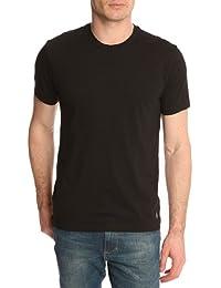 POLO Ralph Lauren - Maillots de corps - Homme - Pack de 2 T-Shirt noir col rond - L