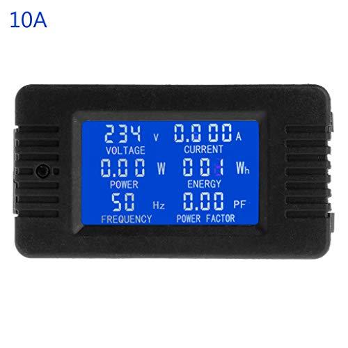 A0127 6in1 Digital AC 80~260V Power-Energie¨¹berwachungsspannung Strom KWh Wattmeter 100A Wattmeters