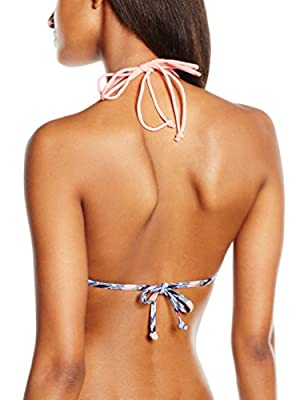 New Look Women's Macrame Apex Bikini Top
