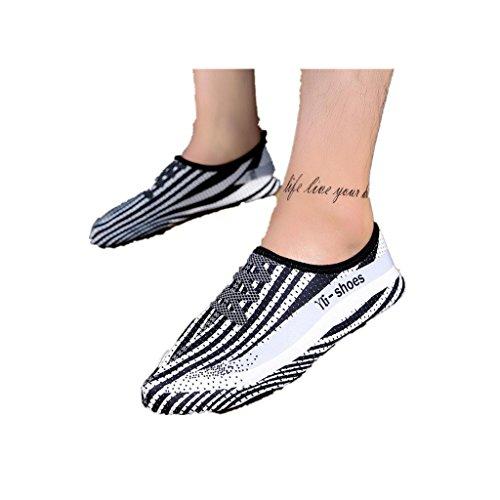 Familizo Neutral printing quick-drying water swim surfing socks yoga shoes bianca