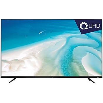 TCL 107.9 cm (43 Inches) 4K UHD LED Smart TV 43P6US (Black)