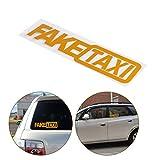 ShangSky Falso Adesivo Auto Taxi Autoadesivo Divertente Pet Adesivo Riflettente paraurti JDM Tuning OEM Dub Decal per Auto Parte 10 pz