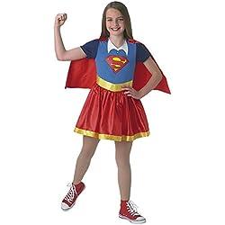 Super Hero Girls - Disfraz Supergirl SHG infantil, talla Xl (Rubie's Spain 630022-XL)
