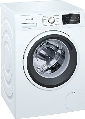 Siemens iQ500 WM12T469ES Independiente Carga frontal 8kg 1200RPM A+++ Blanco - Lavadora (Independiente, Carga frontal, Blanco, Giratorio, Tocar, Izquierda, LED)