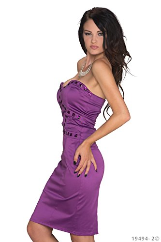 jowiha - Robe - Cocktail - Femme Small Lilas