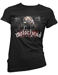 bfc4ae861 Camiseta Mujer Motorhead - camiseta hard rock Lemmy 100% algodon LaMAGLIERIA