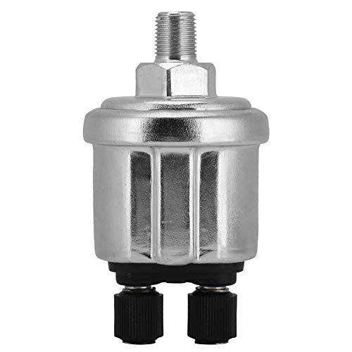 Pressione Sensore Trasduttore 1/8NPT,VDO 0-10Bar Acqua Olio Gas Universale Allarme Trasduttore Pressione Motore Lega Alluminio Generatore Diesel Parte 10mm
