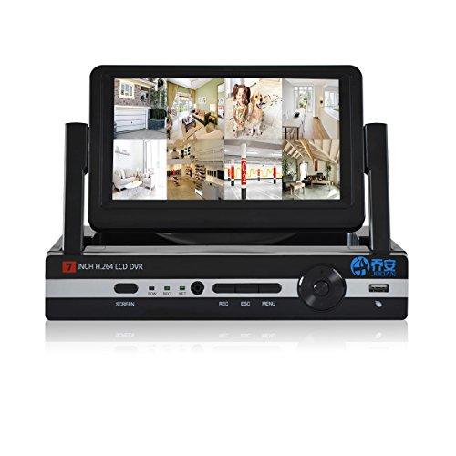 JOOAN 960H 8-Kanal H.264 Sicherheit CCTV DVR Rekorder Motion Detection CCTV Videoüberwachung Aufzeichnungsgerät mit Display