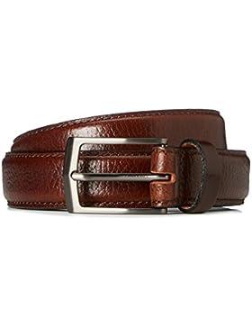 FIND Cintura in Pelle Martellata Uomo