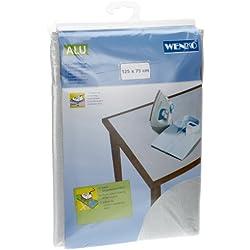 Wenko 1025111100 Nappe de Repassage en Aluminium Dimensions 125 X 75 cm