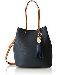 Lino Perros Women's Handbag (Blue) - B0779BX4SS