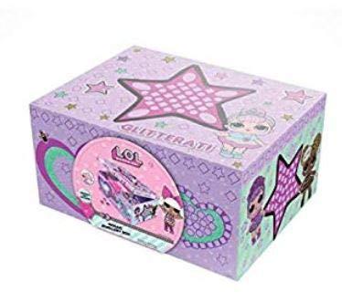 L.O.L. Surprise Dolls Mosaic Jewellery Box for Girls Glitterati Series