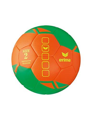 erima Uni Griptonyte Training Handball, Green/Orange, 1