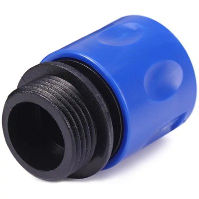 https://www.banggood.com/Garden-Stretch-Hose-Adaptor-Connector-Blue-p-1210975.html Jardin Flexible Extensible Adaptateur connecteur, Bleu