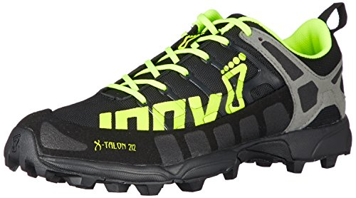 Inov-8 X -Talon 212 – Zapatillas de Trail Running – Black/Amarillo neón/Grey