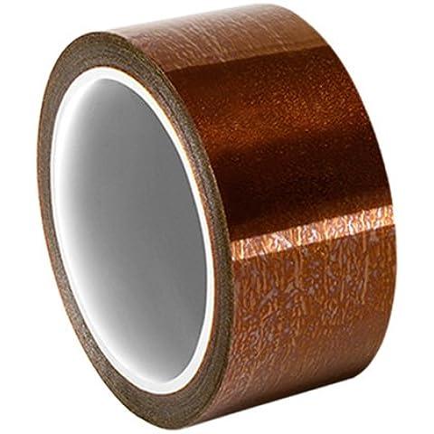 5419 TapeCase 1,80 cm x (0,71 36yd in poliammide/Silicone Low Static Film Tape, convertiti 5419 da 3 m, 100 a 500 °F , temperatura, 91,44 (36 cm lunghezza, larghezza del 1,80 (0,71 Rotolo cm