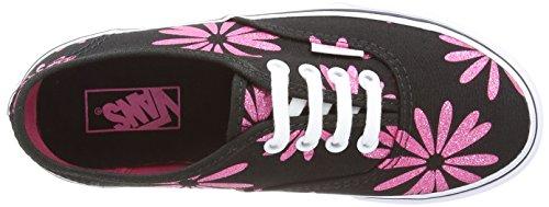 Vans Skateboard Authentic Scarpe Sportive, Unisex Bambini Nero (Sparkle Black)